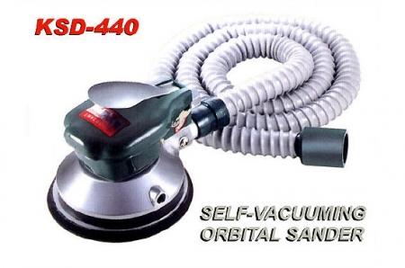 Self Vacuuming Dual Action Sander KSD-440