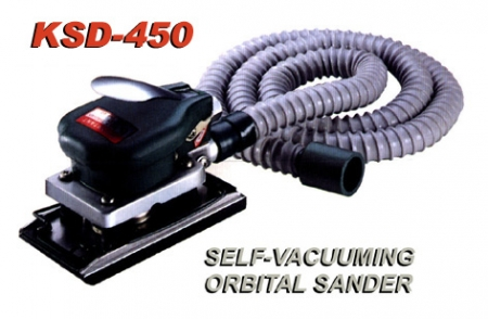 Self-Vacuuming Orbital Sander KSD-450