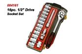 16pc. Drive Socket Set.