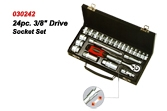 24pc. Drive Socket Set.