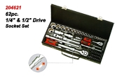 62pc. Drive Socket Set.