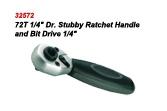 Bit Drive Reversible Stubby Ratchet Handle