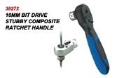 10mm Bit Drive Stubby Composite Ratchet Handle