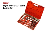 505601 56pc. Drive Socket Set
