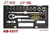 Hand Tools - Socket Wrench Set - KS-1217