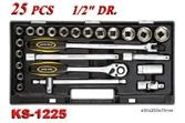 Hand Tools - Socket Wrench Set - KS-1225