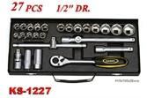 Hand Tools - Socket Wrench Set - KS-1227