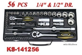 Hand Tools - Socket Wrench Set - KS-141256