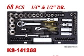 Hand Tools - Socket Wrench Set - KS-141268