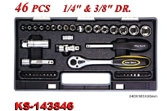 Hand Tools - Socket Wrench Set - KS-143846