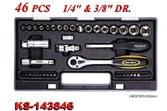 Hand Tools - Socket Wrench Set - KS-143846