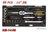 Hand Tools - Socket Wrench Set - KS-1446