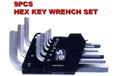 Hex Key Wrench Set - KS-HX09