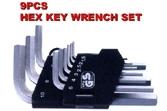 Hex Key Wrench Set - KS-HX09
