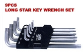 Long Hex Key Wrench Set - KS-HX09L