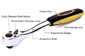 Hand Tools - Ratchet Handle - KS-PAC