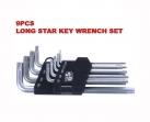 Long Star Key Wrench Set - KS-SX09L
