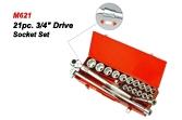M621 21pc.Drive Socket Set