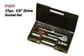 P1217 17pc.Drive Socket Set.