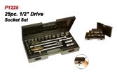 P1225 25pc.Drive Socket Set.