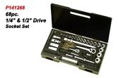 68pc Drive Socket Set.