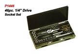P1446 46pc.Drive Socket Set.
